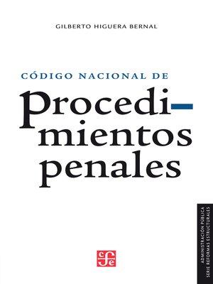 cover image of Reforma en materia de justicia penal