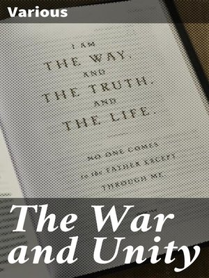 cover image of The War and Unity