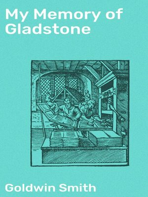 cover image of My Memory of Gladstone