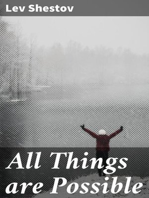 cover image of All Things are Possible