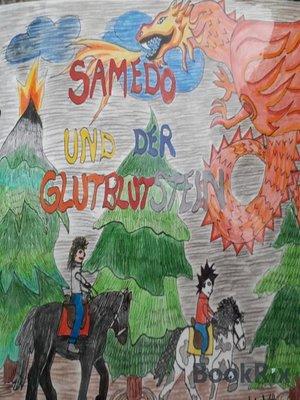 cover image of Samedo und der Glutblutstein
