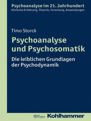 cover image of Psychoanalyse und Psychosomatik