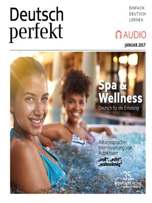 cover image of Deutsch lernen Audio--Spa & Wellness