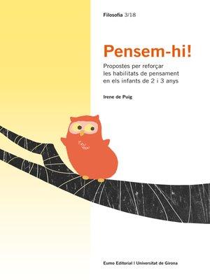 cover image of Pensem-hi!