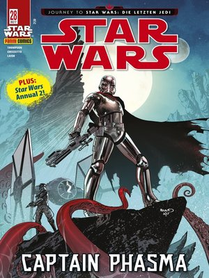 cover image of Star Wars, Comicmagazin 28--Captain Phasma