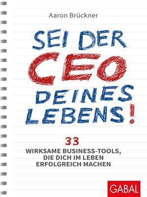 cover image of Sei der CEO deines Lebens!
