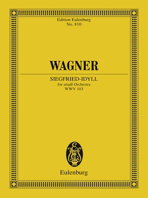 cover image of Siegfried-Idyll