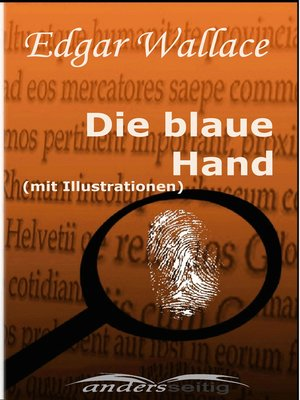 cover image of Die blaue Hand (mit Illustrationen)