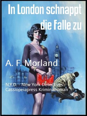 cover image of In London schnappt die Falle zu