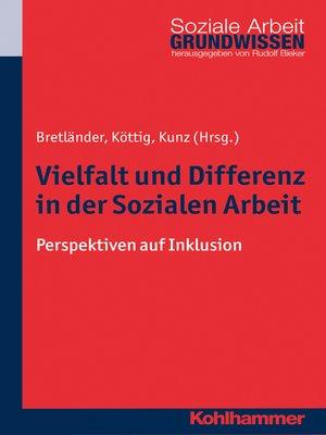 cover image of Vielfalt und Differenz in der Sozialen Arbeit