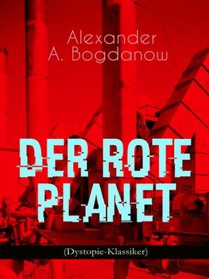 cover image of Der rote Planet (Dystopie-Klassiker)