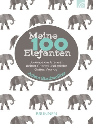 cover image of Meine 100 Elefanten