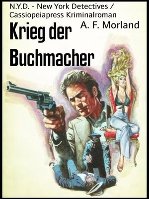 cover image of Krieg der Buchmacher