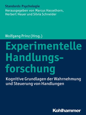 cover image of Experimentelle Handlungsforschung