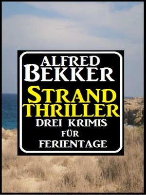 cover image of Strand Thriller