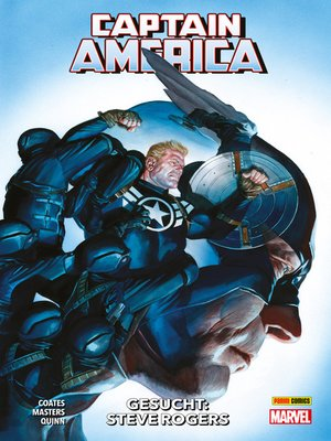 cover image of Captain America, Band 3--Gesucht
