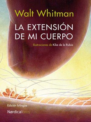 cover image of La extensión de mi cuerpo