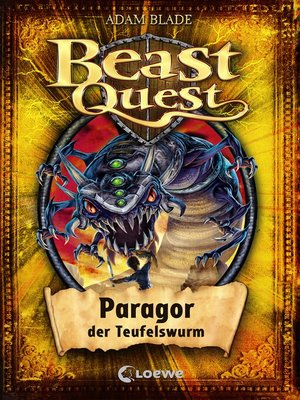 cover image of Beast Quest 29--Paragor, der Teufelswurm