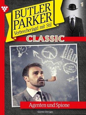 cover image of Butler Parker Classic 1 – Kriminalroman