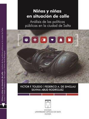 cover image of Niños y niñas en situación de calle