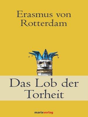 cover image of Das Lob der Torheit