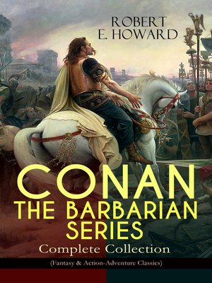 cover image of Conan the Barbarian Series – Complete Collection