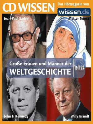 cover image of Teil 24: Jean-Paul Sartre, Mutter Teresa, Willy Brandt, John F. Kennedy