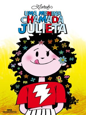 cover image of Uma menina chamada julieta