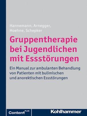 cover image of Gruppentherapie bei Jugendlichen mit Essstörungen