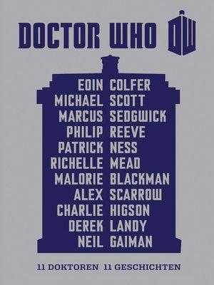 cover image of 11 Doktoren, 11 Geschichten