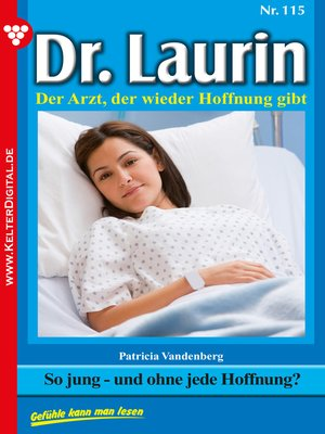 cover image of Dr. Laurin 115 – Arztroman