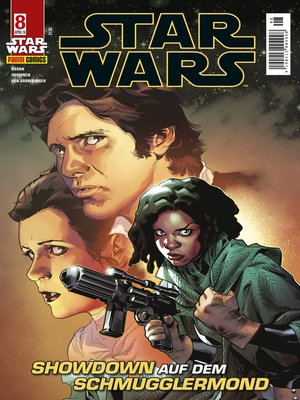 cover image of Star Wars, Comicmagazin 8--Showdown auf dem Schmugglermond