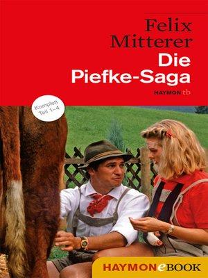 cover image of Die Piefke-Saga