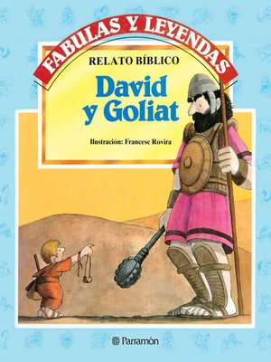 cover image of David y Goliat