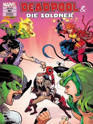 cover image of Deadpool & die Söldner 3--Mittendrin und nicht dabei
