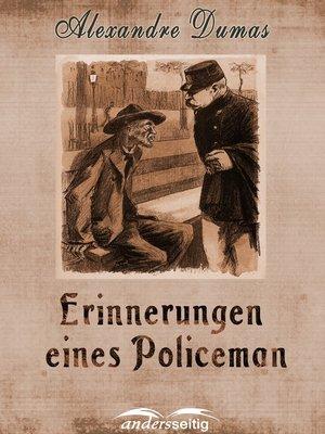 cover image of Erinnerungen eines Policeman