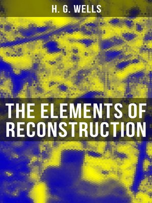 cover image of THE ELEMENTS OF RECONSTRUCTION