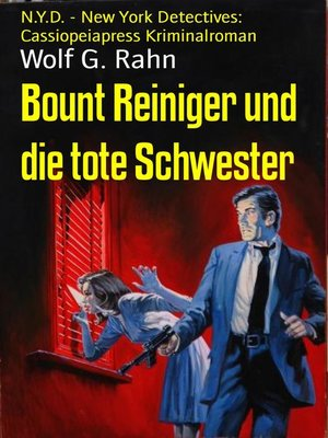 cover image of Bount Reiniger und die tote Schwester