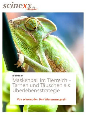 cover image of Maskenball im Tierreich