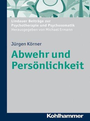 cover image of Abwehr und Persönlichkeit