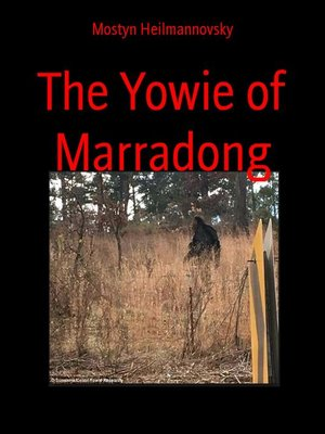 cover image of The Yowie of Marradong