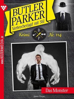 cover image of Butler Parker 114 – Kriminalroman