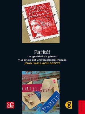 cover image of Parité!