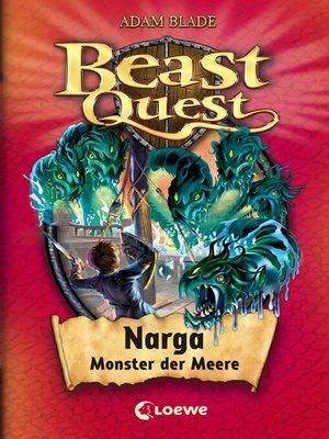 cover image of Beast Quest 15 – Narga, Monster der Meere