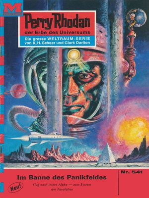 cover image of Perry Rhodan 541