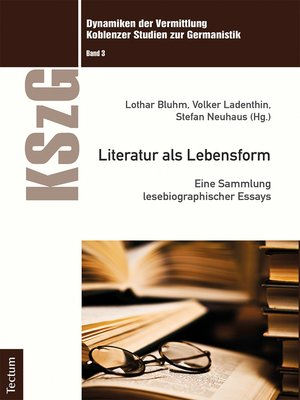 cover image of Literatur als Lebensform