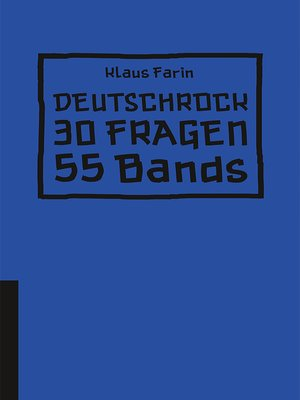 cover image of Deutschrock