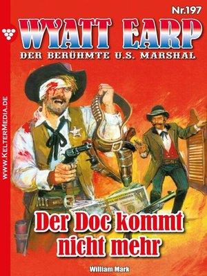 cover image of Wyatt Earp 197 – Western