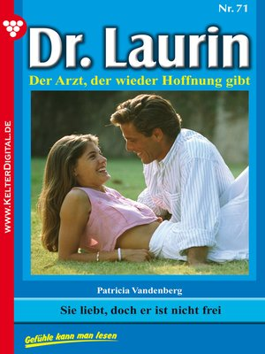 cover image of Dr. Laurin 71--Arztroman