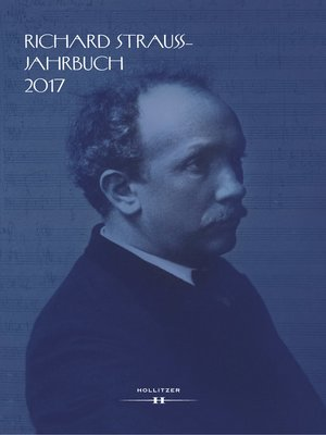 cover image of Richard Strauss-Jahrbuch 2017